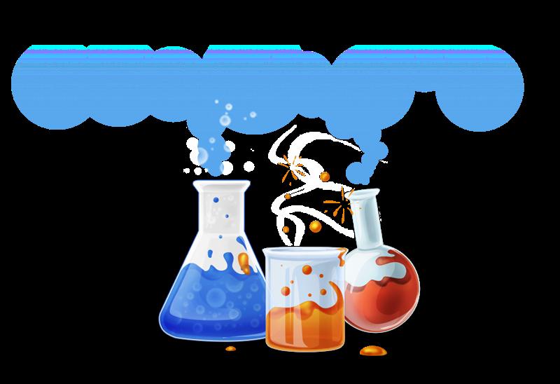 Free Bubbling Flasks Clip Art