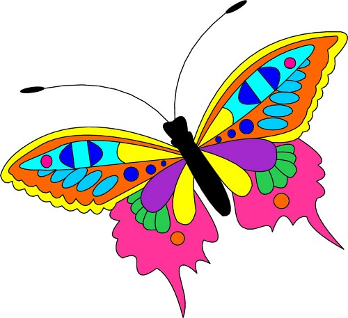 Free Butterfly Clip Art Graphics Clipart Free Clipart Image