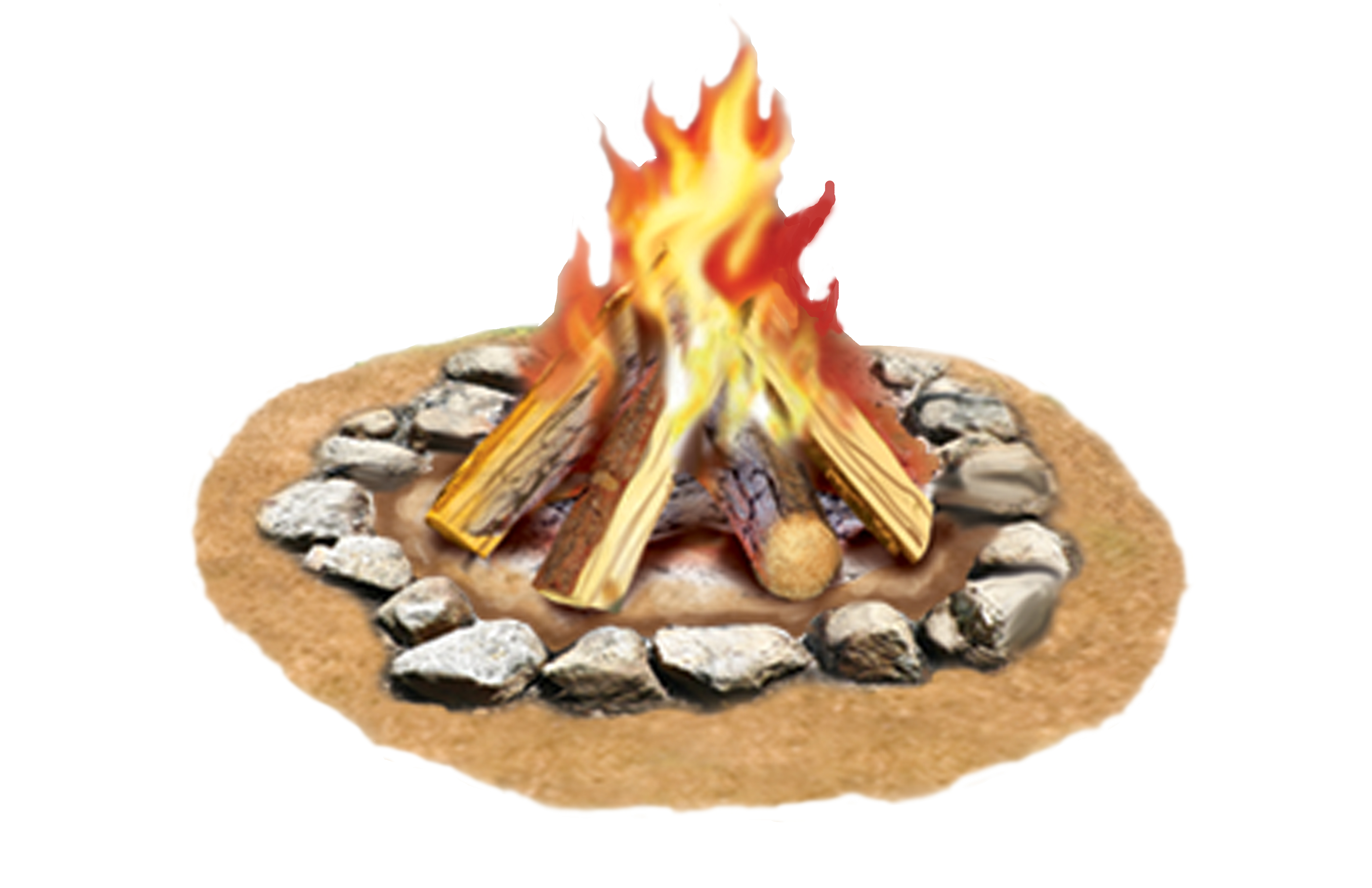 Free Campfire Clipart