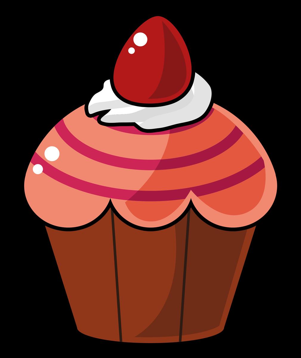 Free Cartoon Cupcake Clip Art u0026middot; cupcake13