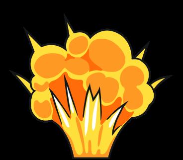 Free Cartoon Explosion Clip Art