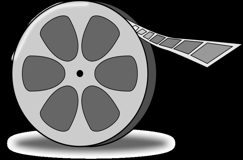 Free Cartoon Film Reel Clip Art