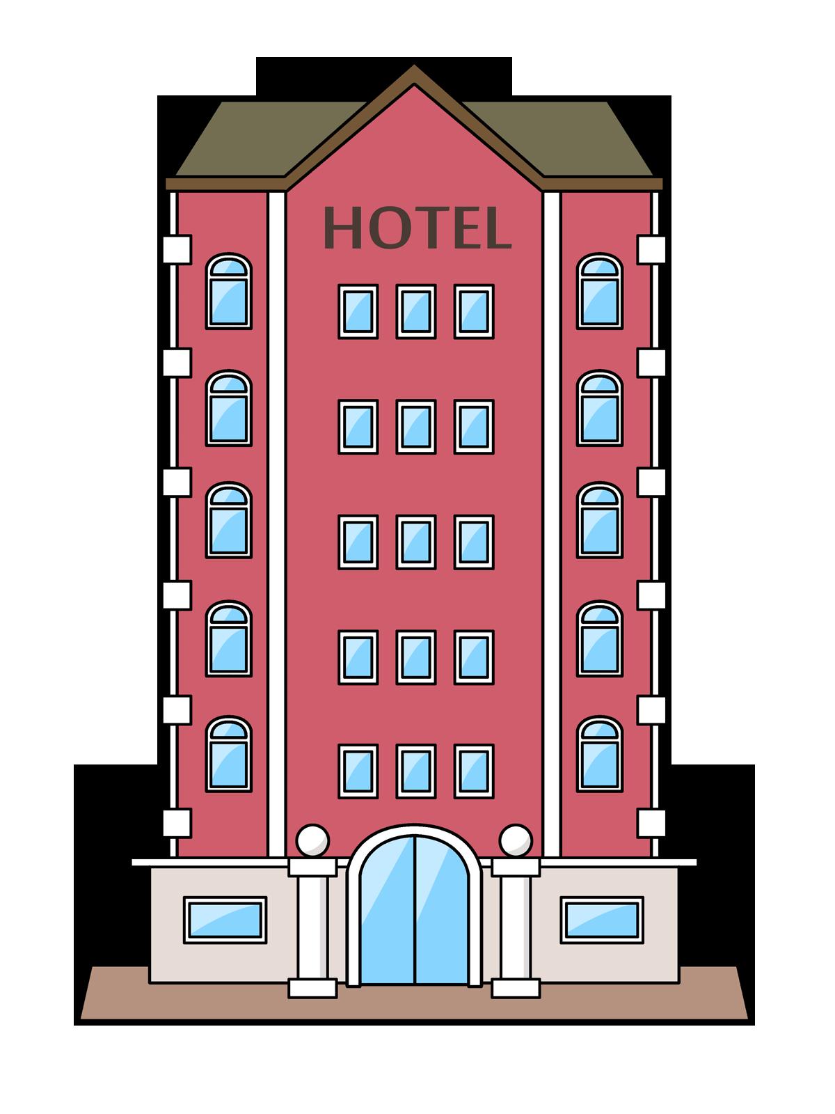 Free Cartoon Hotel Clip Art u0026middot; hotel3