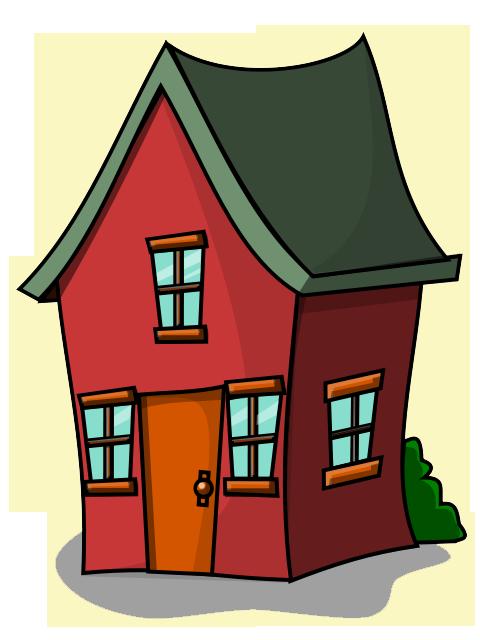 Free Cartoon House Clip Art