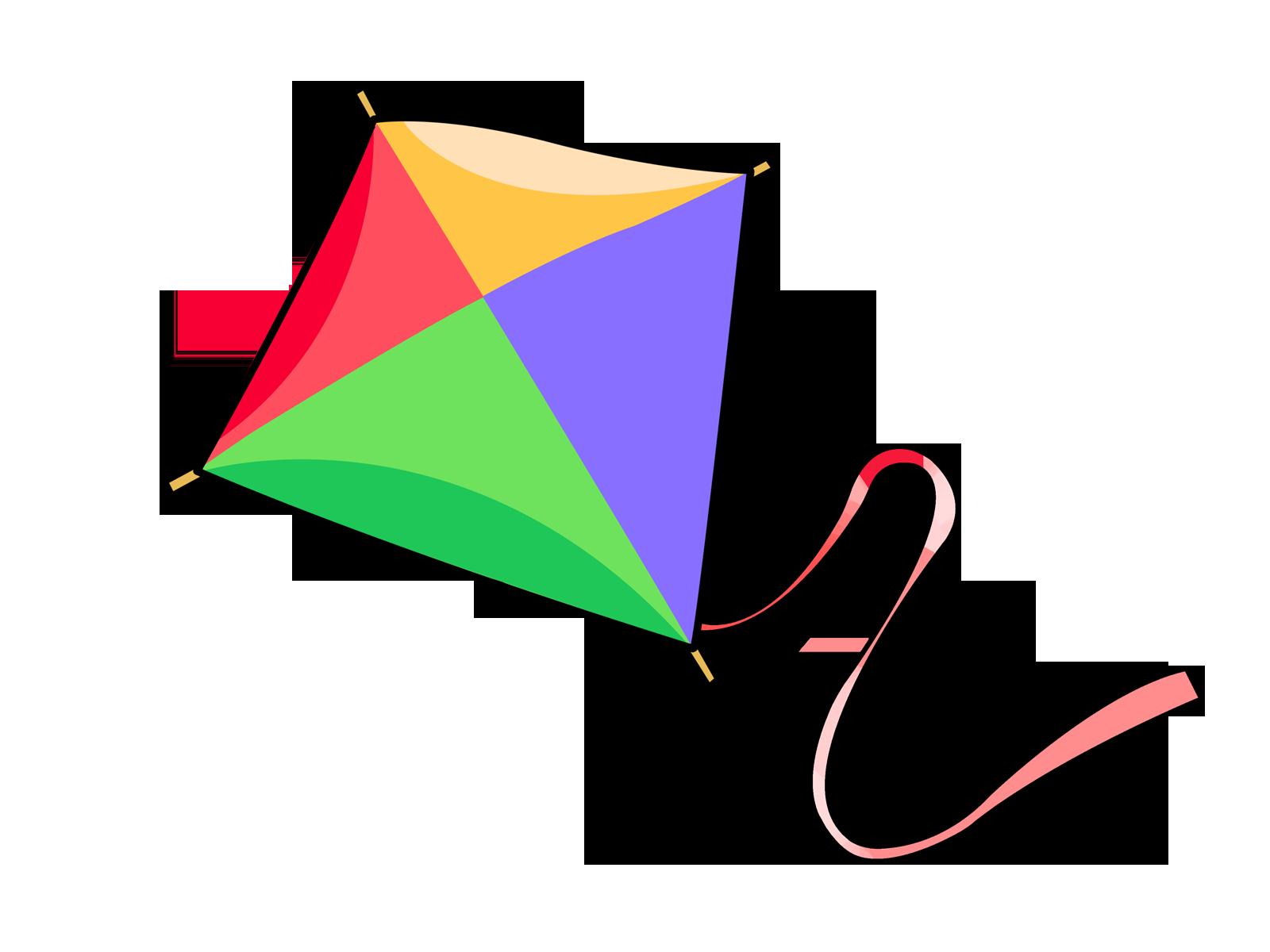 Free Cartoon Kite Clip Art