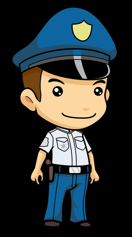 Free Cartoon Police Officer Clip Art