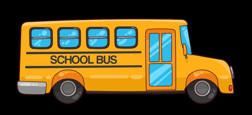 Free Cartoon School Bus Clip Art