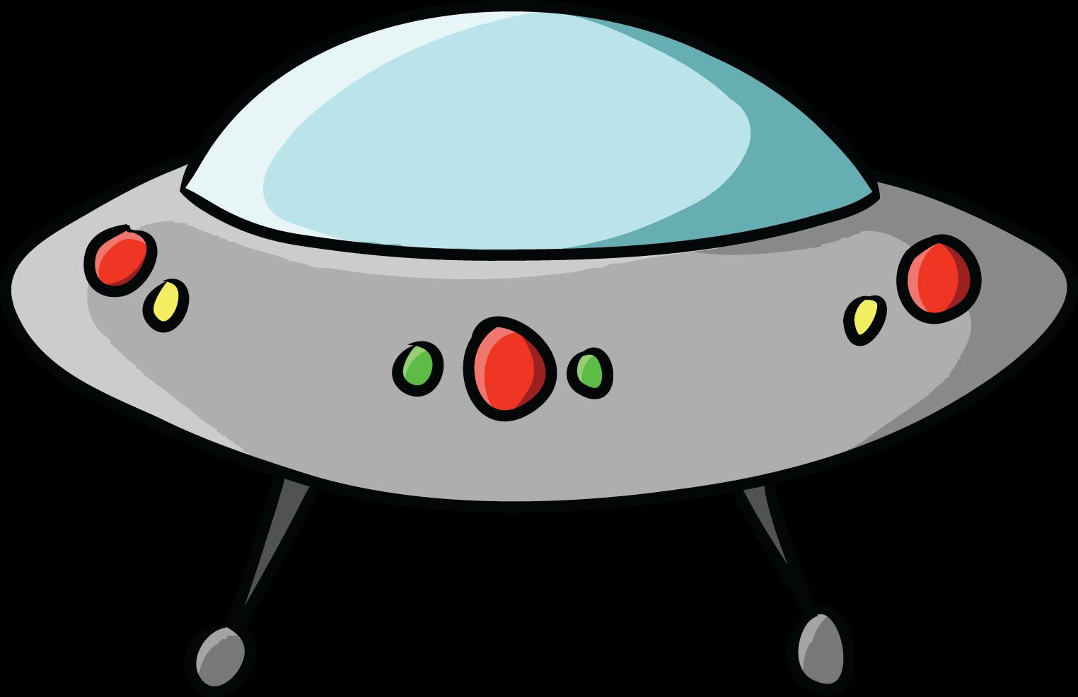 Free Cartoon UFO Clip Art