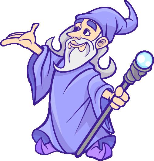 Free Cartoon Wizard Clip Art