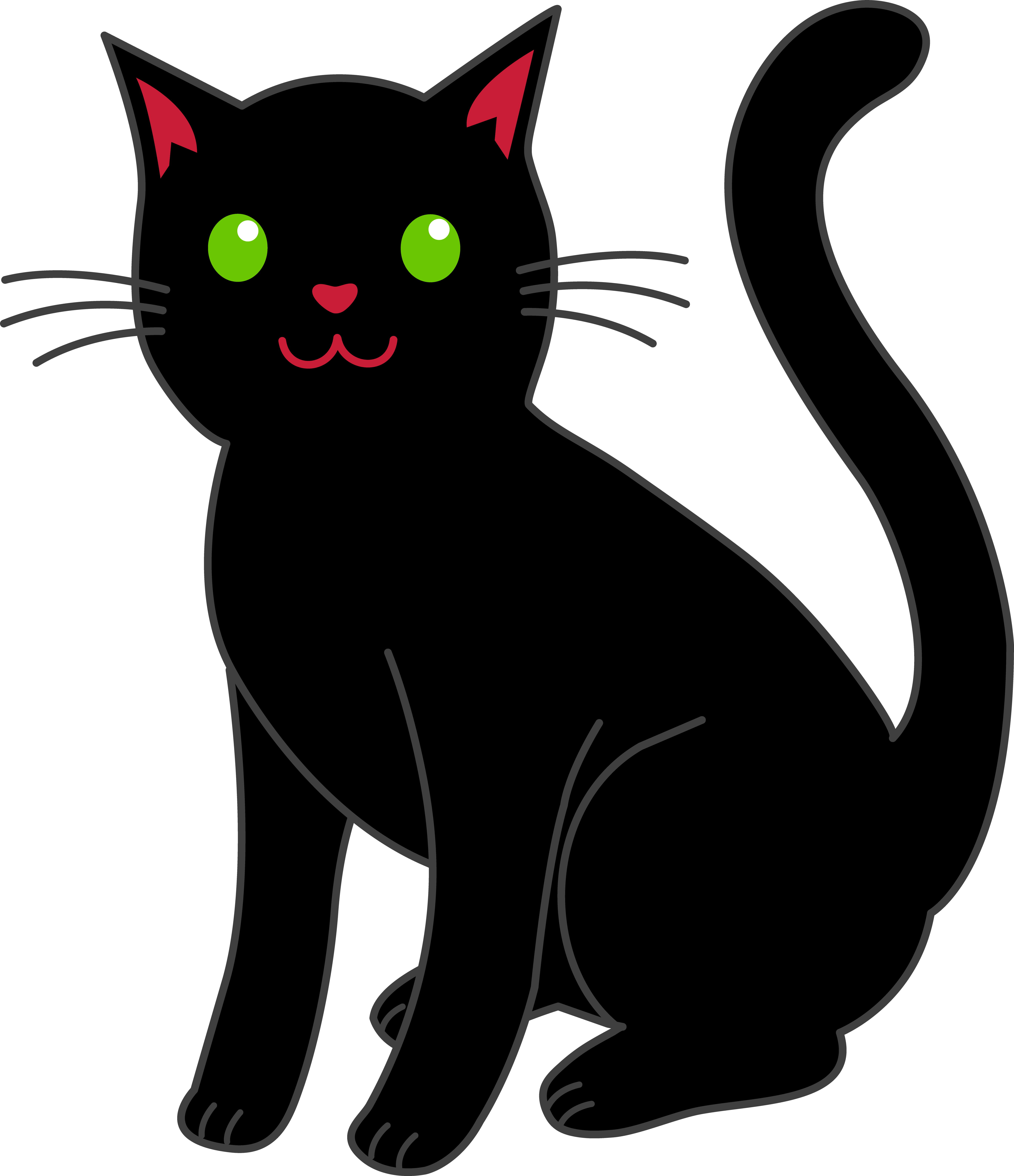 Free cat clipart images clipartall