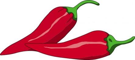 ... Free chili pepper clipart ...