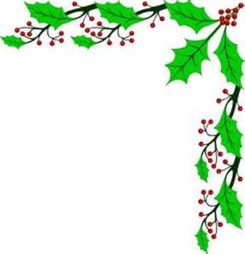 Free Christmas Border Clip Art - clipartall