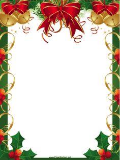 Free Christmas Clipart Borders