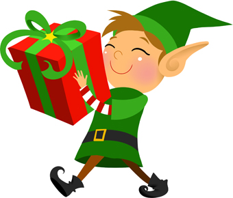Free Christmas Elf Clipart