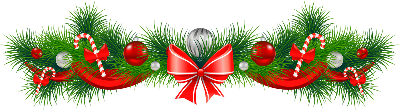 Free christmas garland clipart