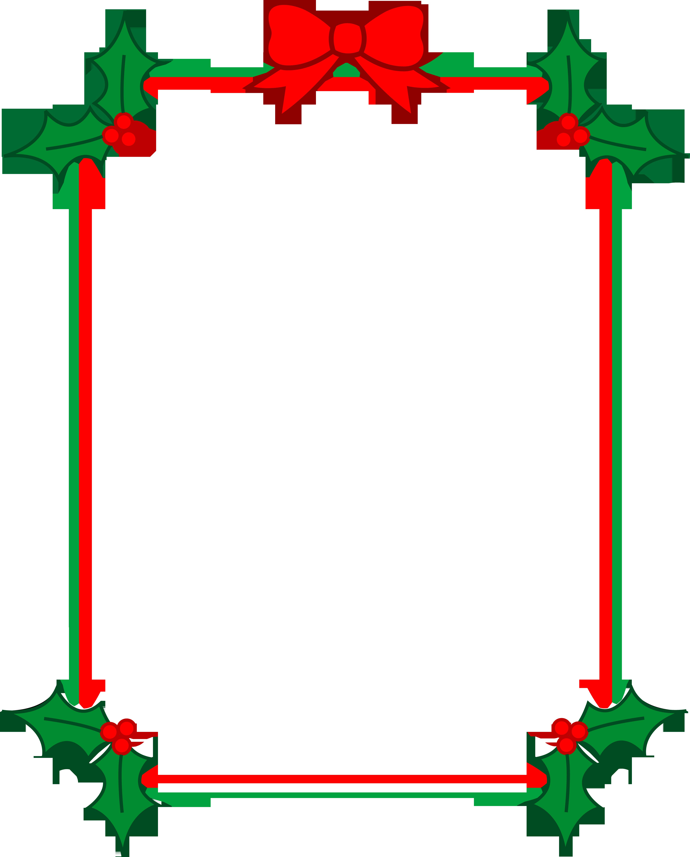 Free Christmas Holiday Clip Art Borders Free