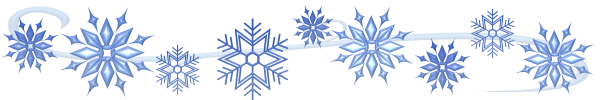 Free Christmas Snowflake Border Clip Art Pictures, Images u0026 Photos |  Photobucket