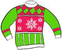 Free Christmas Sweater Clipart