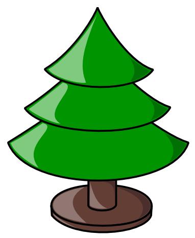 Free Christmas Tree Clipart
