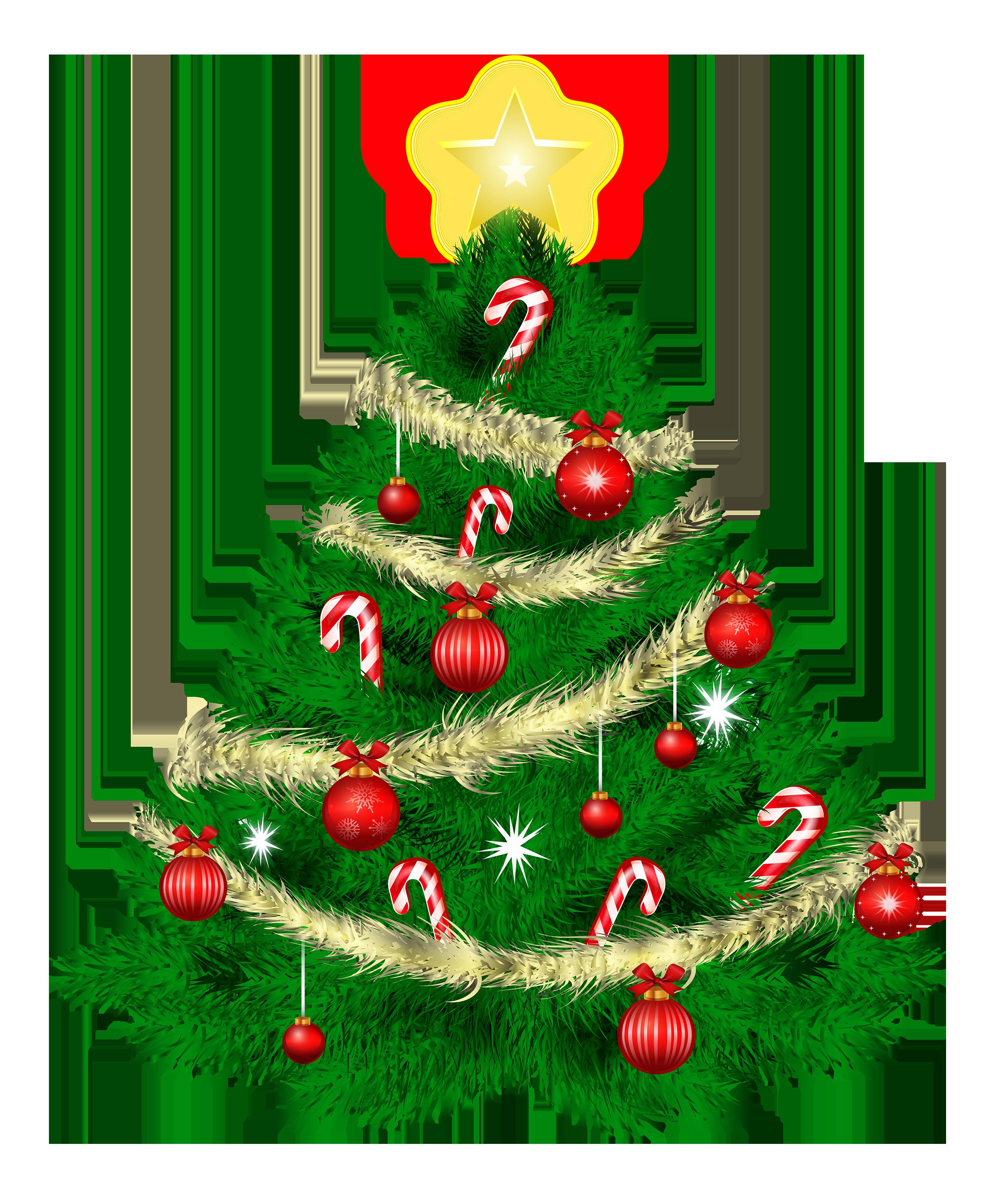 Free christmas tree clipart public domain clip art 3