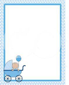 Free Clip Art Baby Borders .