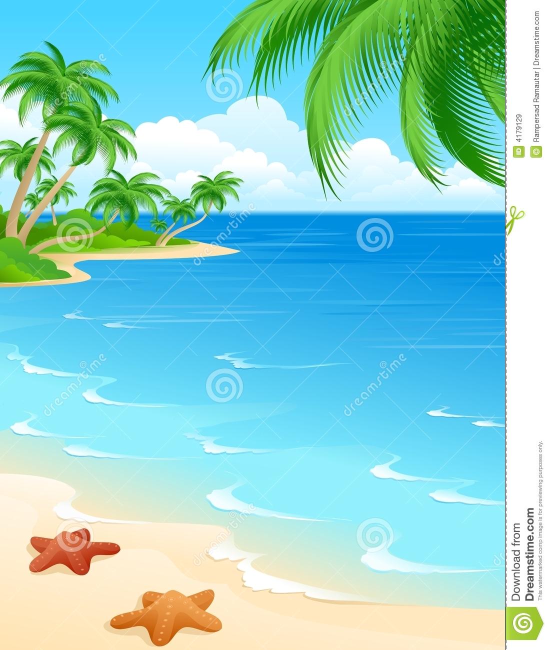 Free Clip Art Beach Beach Scene Royalty Free Stock Images Image
