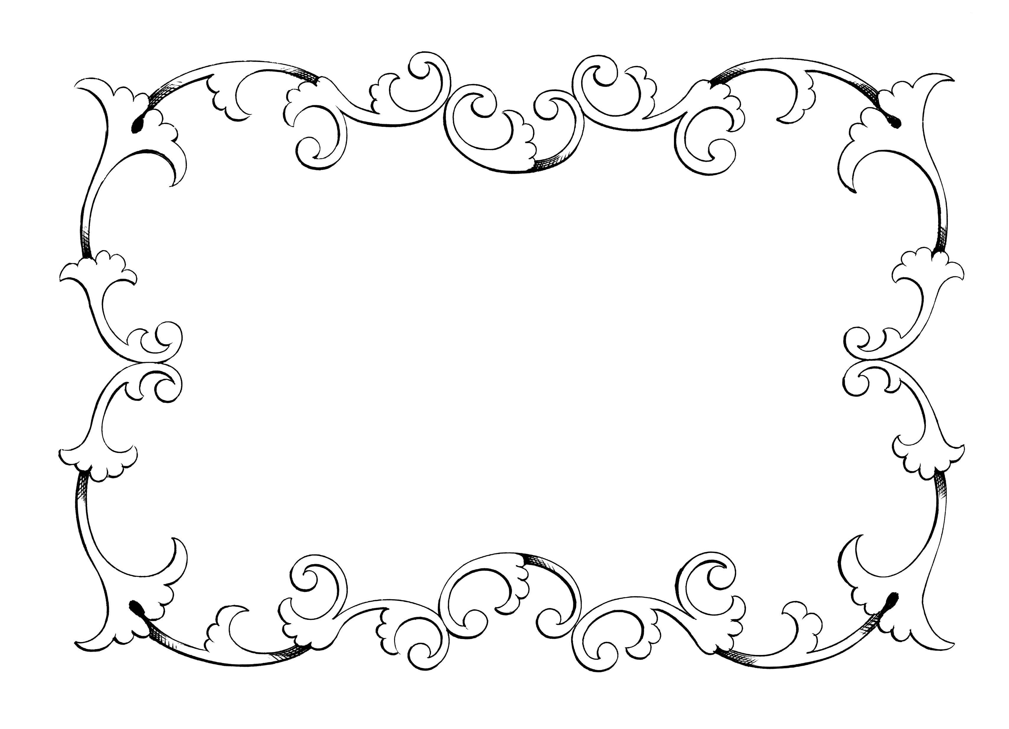 Free clip art borders frames .