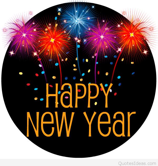 Free clip art Happy new year .