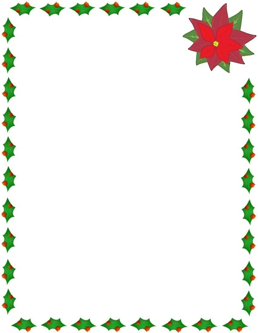 Free Clip Art Holiday Borders - clipartall ...