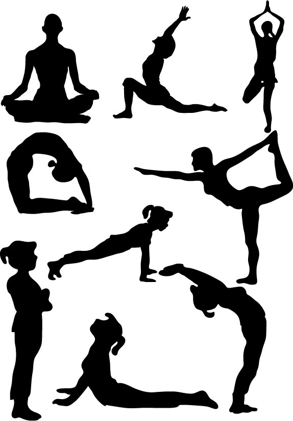 Free Clip Art Kids Yoga