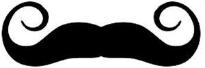 Free clip art mustache clipart .