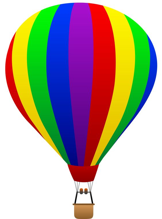Free clip art of a fun rainbow .