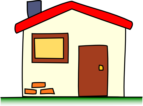free clip art of houses - Clipart library - Clipart library