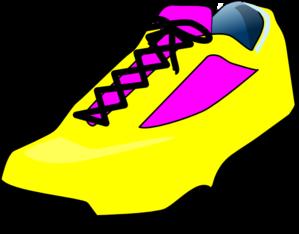 Free clip art shoes clipart image