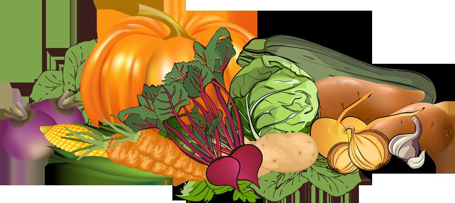 Free clip art vegetables - .