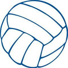 free clip art volleyball   Sports u0026amp; Athletics - Volleyball Clip Art