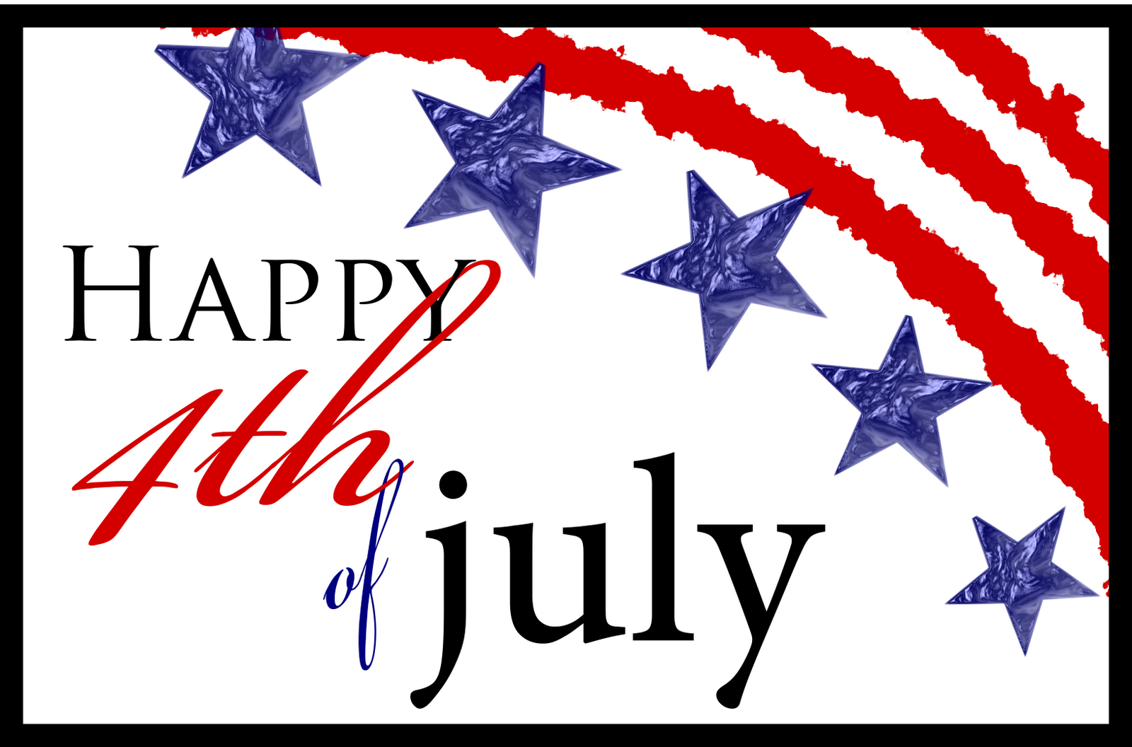 Free Clipart 4th Of July .