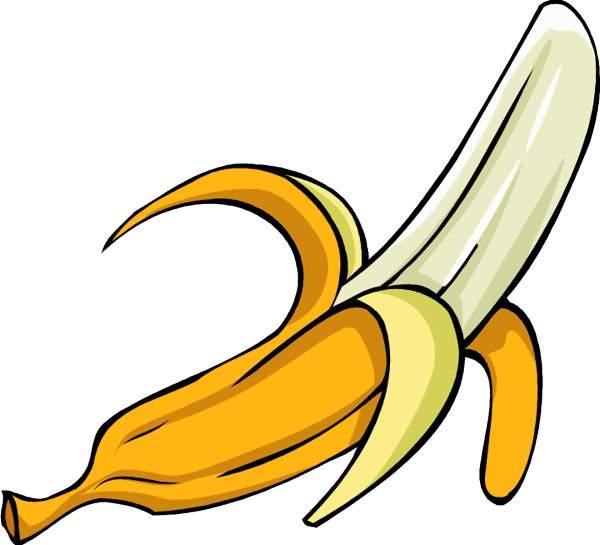 ... Free clipart banana ...