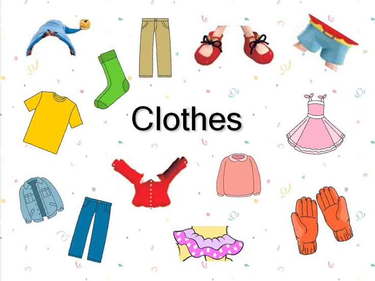 free clipart for teachers clothing   PowerPoint-Presentation to teach u0026quot;Clothesu0026quot;.