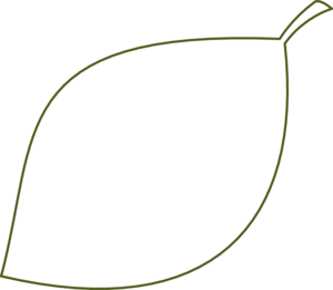 Free clipart leaf outline clipartfox