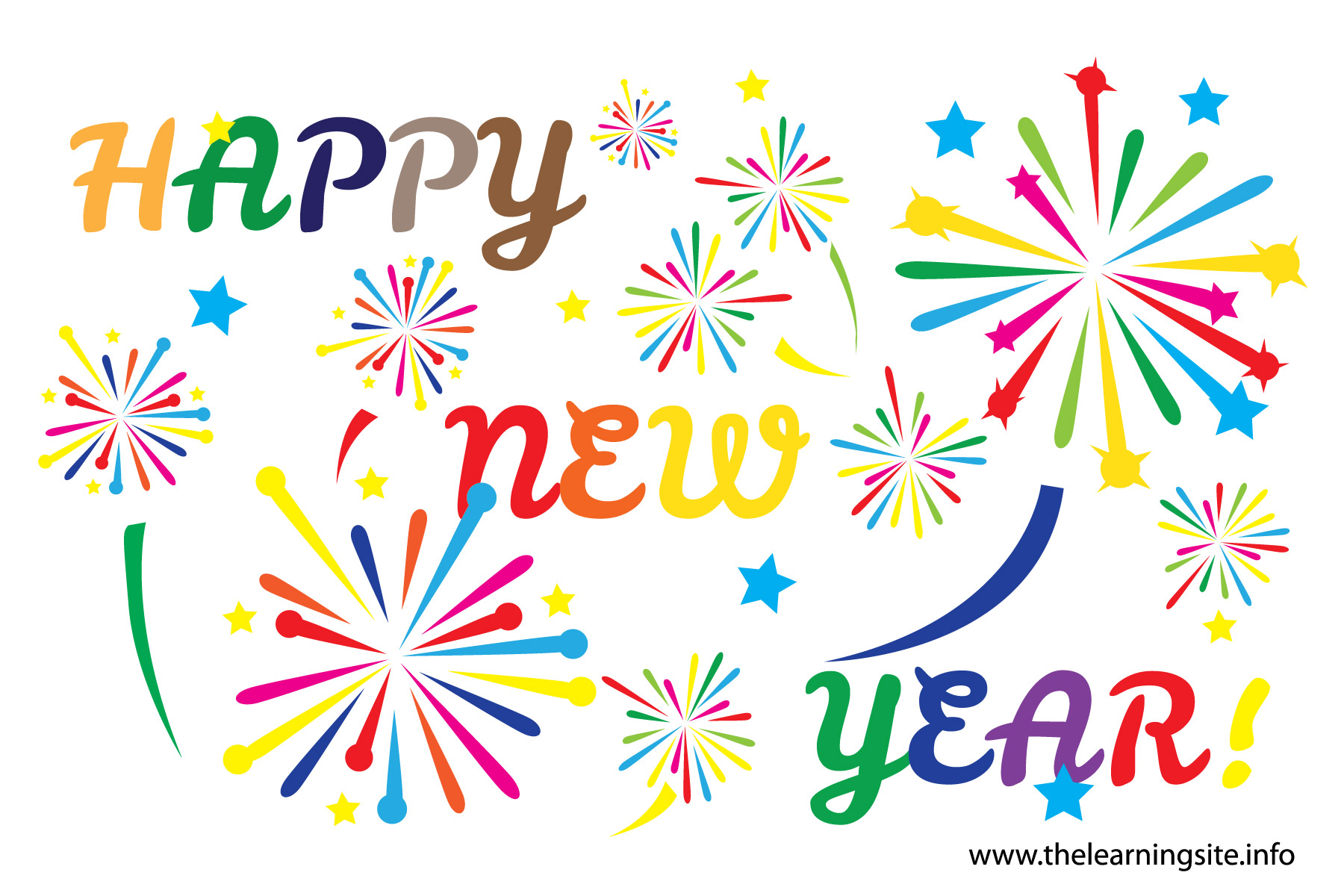 Free Clipart New Years Day .