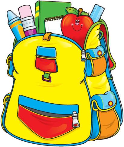 Free clipart school supplies .