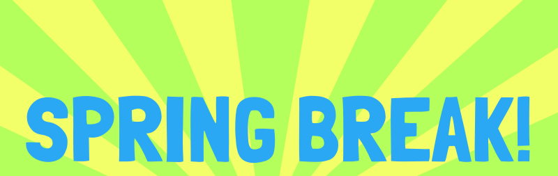 Free Clipart: Spring Break   .