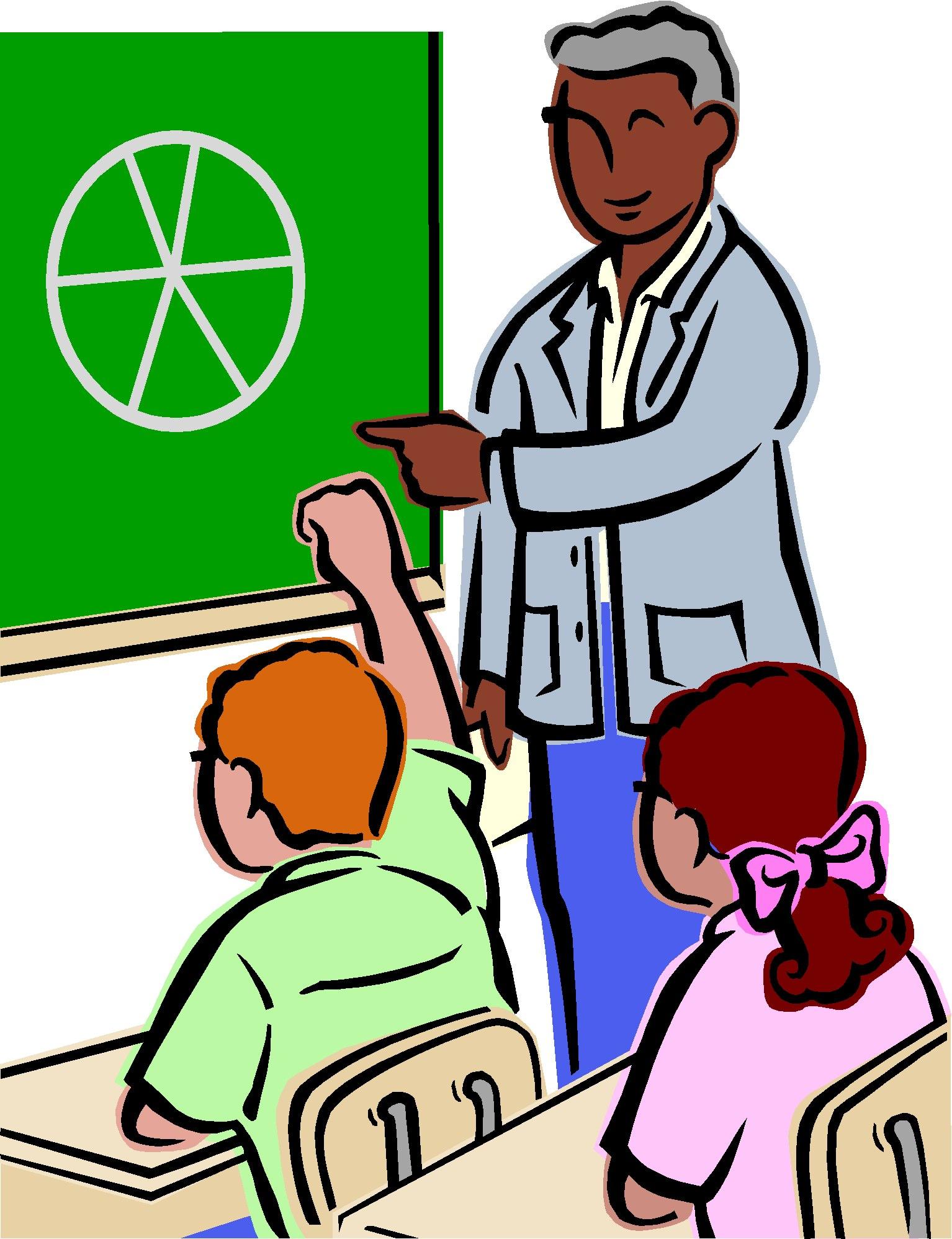 Free clipart teacher reading to students - ClipartFox .