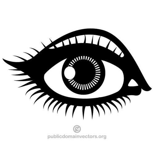 Free clipart winking eye public domain vectors