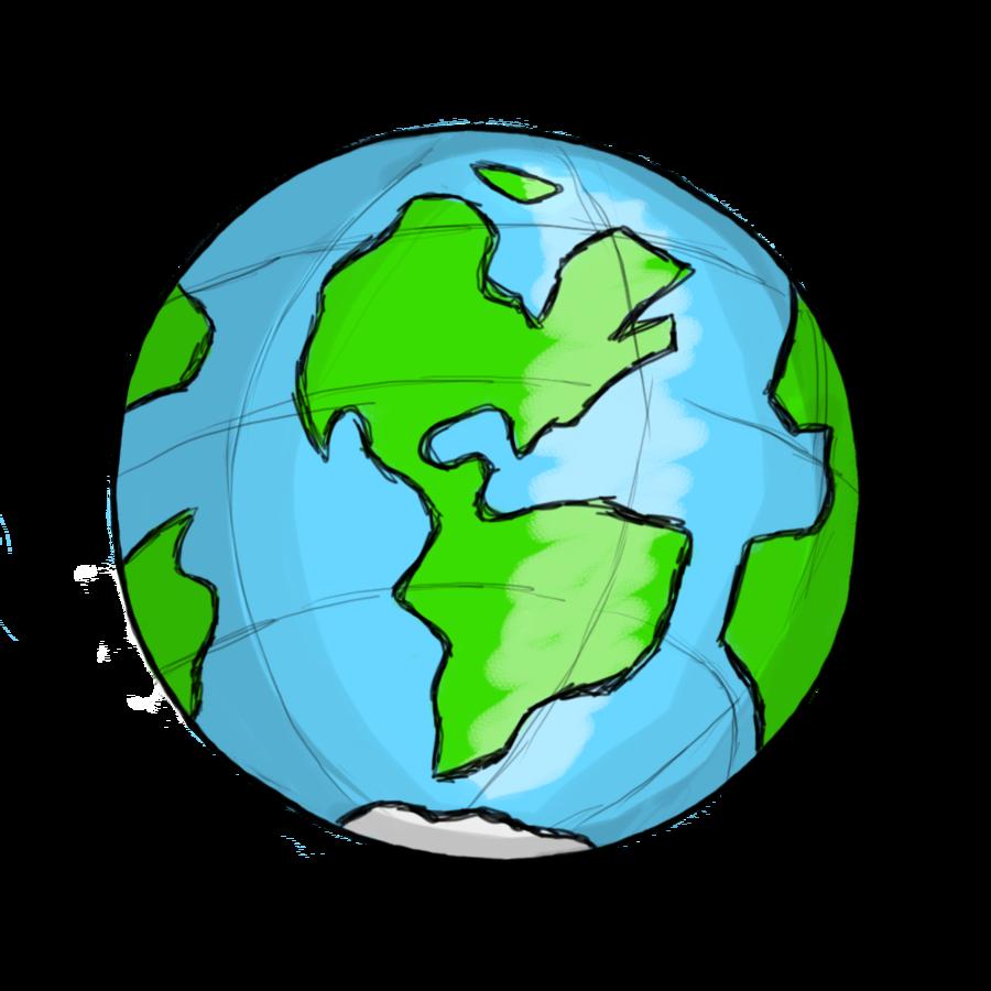 Free clipart world globe .