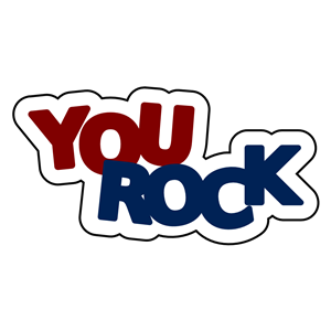 Free clipart you rock - .
