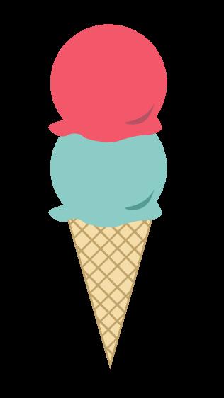 Free Colorful Ice Cream Clip Art