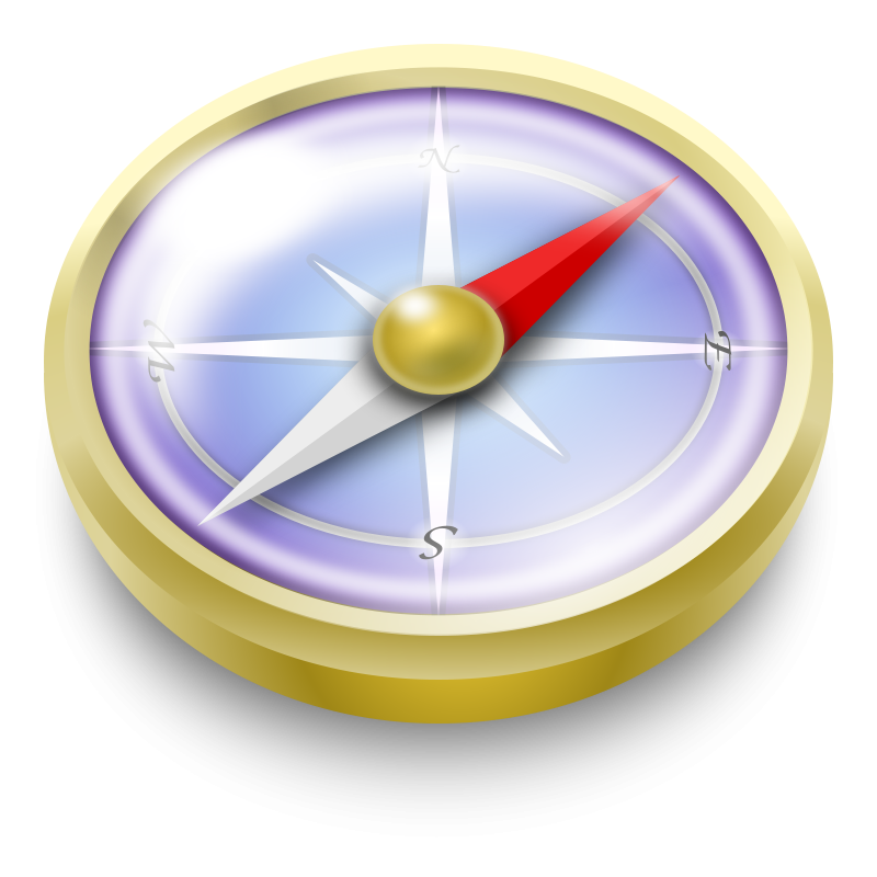 Free Compass Clip Art