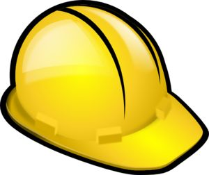 Free Construction Clip Art | Construction Hardhat clip art - vector clip art online, royalty